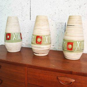 vase céramique allemande vintage déco home tendance