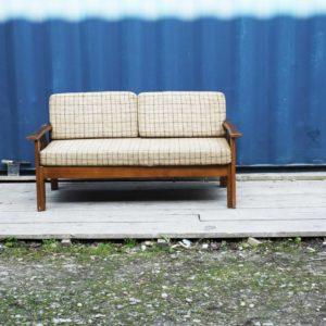 daybed banquette canape assise fauteuil vintage retro design scandinave danish danois suedois teck