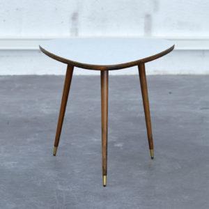 pieds compas tripode table basse tripod forme libre table vintage design retro home deco