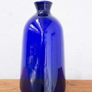 vase bleu cobalt