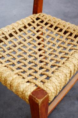 chaise vintage design audoux minet perriand fauteuil retro concept store mobilier ancien chaises