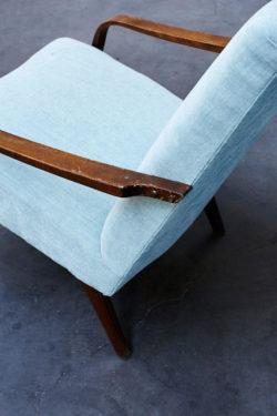 fauteuil retro vintage pop tissu tendance home deco pieds compas piedscompas conceptsore lyon shopping liseuse canape scandinave