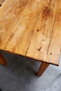 table ferme grande table vintage chine brocante concept store table de ferme rustique retro brut bois mobilier ancien