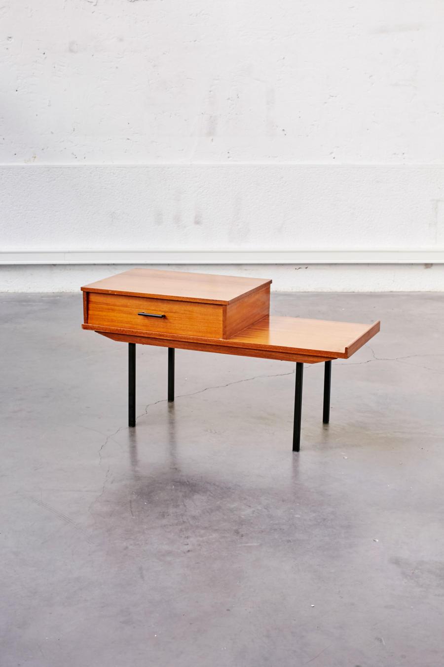 meuble de salon ann es 50 pieds compas. Black Bedroom Furniture Sets. Home Design Ideas