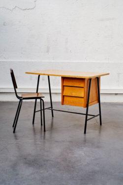 Bureau vintage 3 tiroirs
