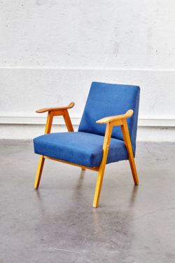 Fauteuil Vintage Bleu jean