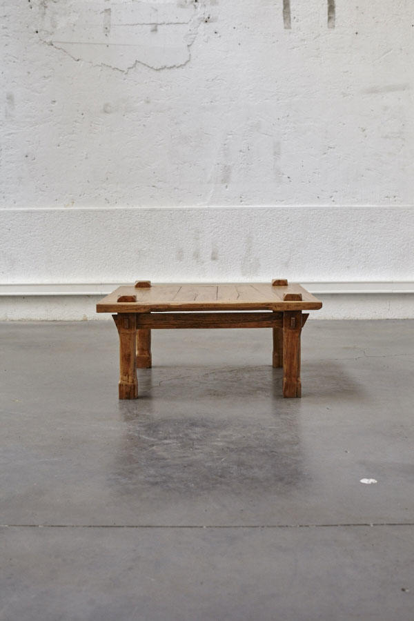 Table basse en bois pieds compas - Table basse pieds compas ...
