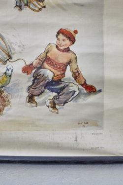Affiche scolaire affiche pédagogique ancienne vintage pieds compas mobilier scandinave tapiovaara mobilier industriel lampe vintage commode vintage chiffonnier vintage enfilade vintage