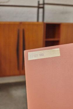 Bibliothèque vintage, bibliothèque scandinave tapiovaara bertoia knoll commode vintage commode pieds compas enfilade