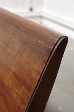 Banc colonial en bois vintage mobilier scandinave