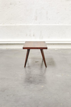Table basse vintage en palissandre mobilier scandinave