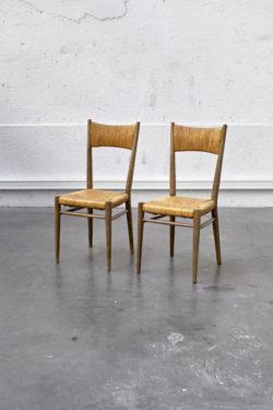 chaise corde paille bois vintage rustique chic retro annees 50 60 brocante pop up store concept store assise fauteuil canape lyon deco home decoration mobilier ancien