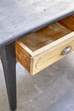 table de ferme table campagne table vintage meuble shabby meuble scandinave chaise pieds compas guzzini