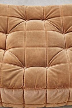 pouf kashima vintage ligne roset michel ducaroy mobilier vintage pieds compas