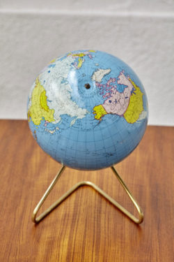 Globe vintage mappemonde vintage