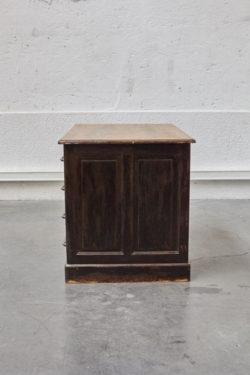 bureau d'administration bureau ancien bureau vintage mobilier vintage chaise tapiovaara chaise bertoia lampadaire vintage