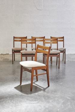 chaise scandinave mobilier vintage pieds compas décoration design furniture