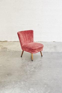 fauteuil cocktail vintage mobilier scandinave pieds compas décoration design