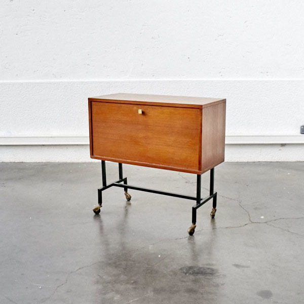 console vintage table dappoint pieds compas fauteuil vintage commode vintage chevet vintage commode pieds - Mobilier Vintage Paris