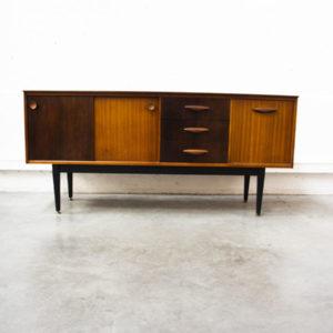 enfilade bicolore mobilier vintage pieds compas commode meubles boutique