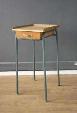 pupitre bureau école vintage boutique pieds compas