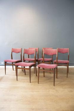 chaise bois bordeaux vintage boutique pieds compas