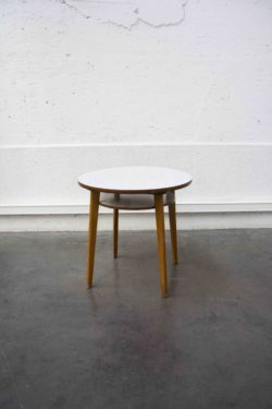 table d'appoint formica pieds compas mobilier vintage enfilade scandinave table bistro brocante