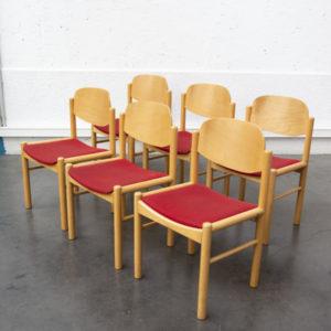 chaises casala vintage tissu confort scandinave pieds compas retro bois bistrot fauteuil assises années 60 sixties mid century french brocante style design french antics deco decoration tendance home