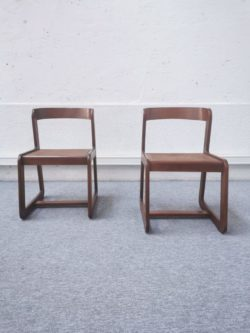 chaise fauteuil willy rizzo table basse ronde plateau verre plateau bois enfilade buffet modulable italien vintage pieds compas teck mobilier lyon retro scandinave