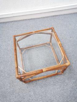 table basse verre retro chaise rotin fauteuil vintage brocante maison ameublement deco home deco tendance lyon decoration pieds compas boutique ameublement