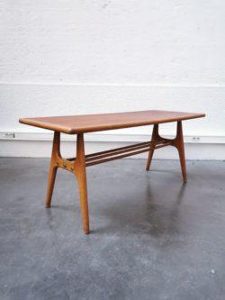 table basse scandinave, table en teck, fauteuil vintage, chaise vintage, tolix, baumann, table de campagne, buffet de campagne, rotin, console en rotin, fauteuil en rotin