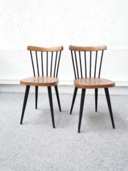 Chaise bistrot, table bistrot, table de brasserie, table ronde vintage, rotin, fauteuil en rotin, enfilade, table de ferme, commode vintage