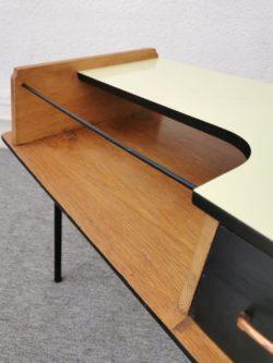 table basse vintage, enfilade, rotin, commode vintage, table de ferme, bibliothèque vintage